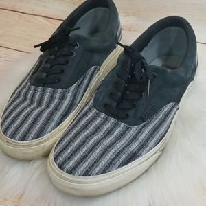 355c464d07 Vans low top lace up skate shoes sneakers gray 10